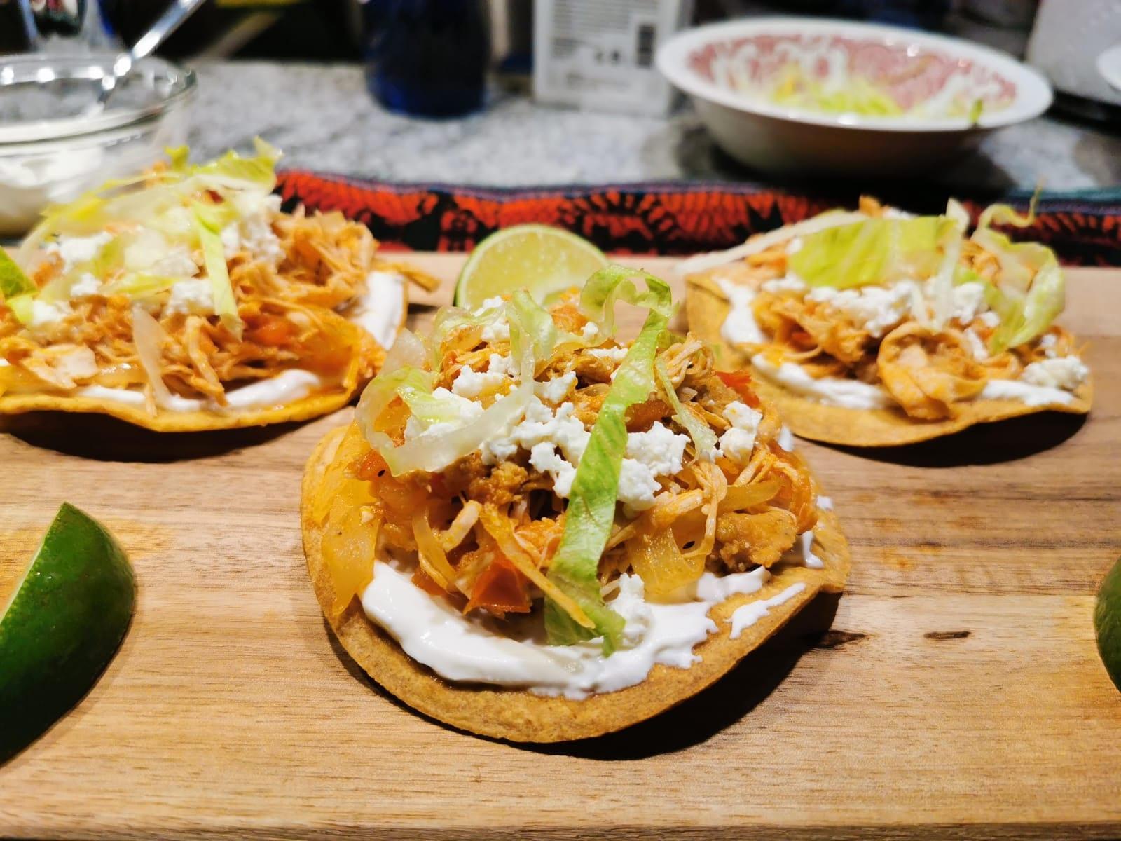 Healthy Tostadas De Tinga Easy Recipe