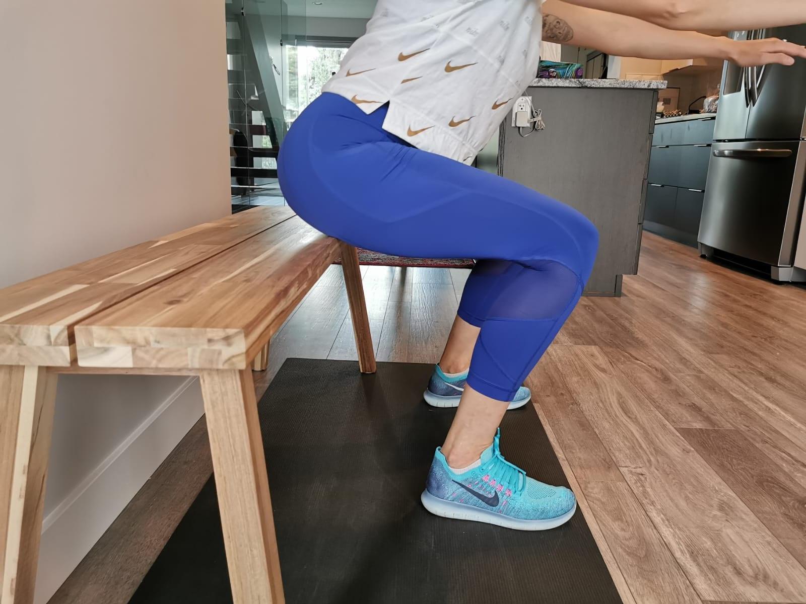 Bench Squats - Squat Better