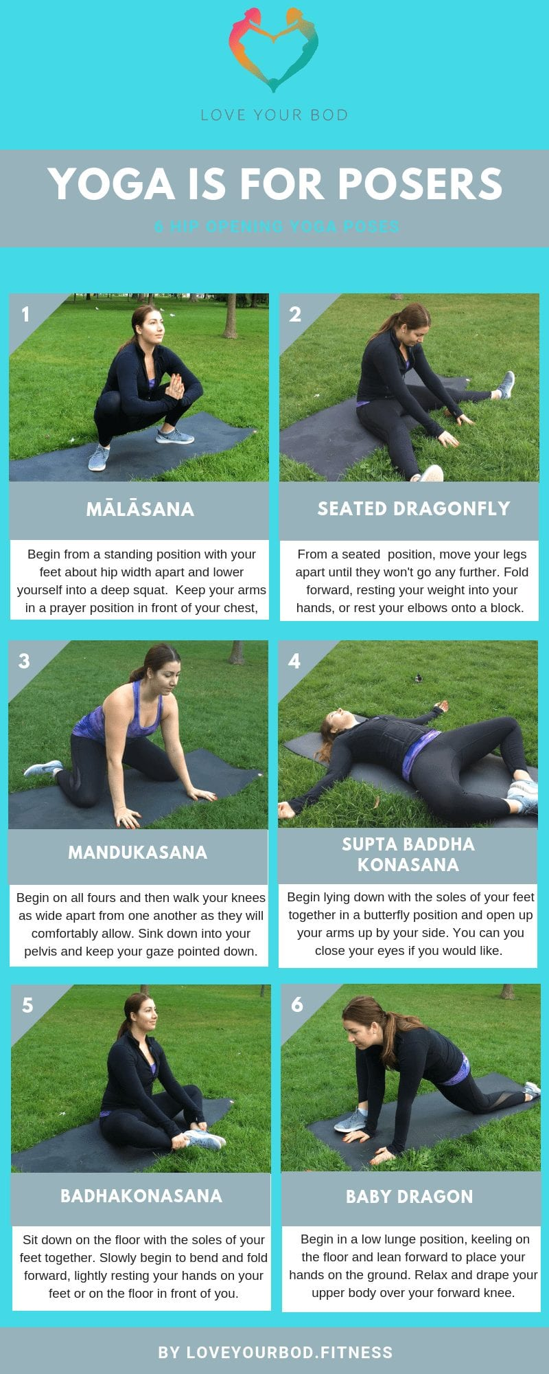 Yoga Is For Posers 6 Hip Flexibility Yin Yoga Poses Love Your Bod