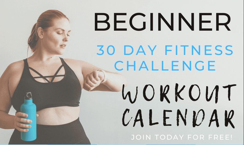 Beginner 30-Day Fitness Challenge